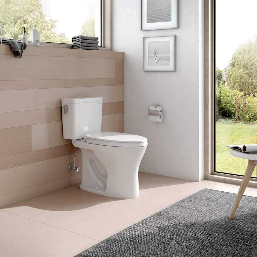 TOTO Drake Two-Piece Elongated Dual Flush 1.28 and 0.8 GPF